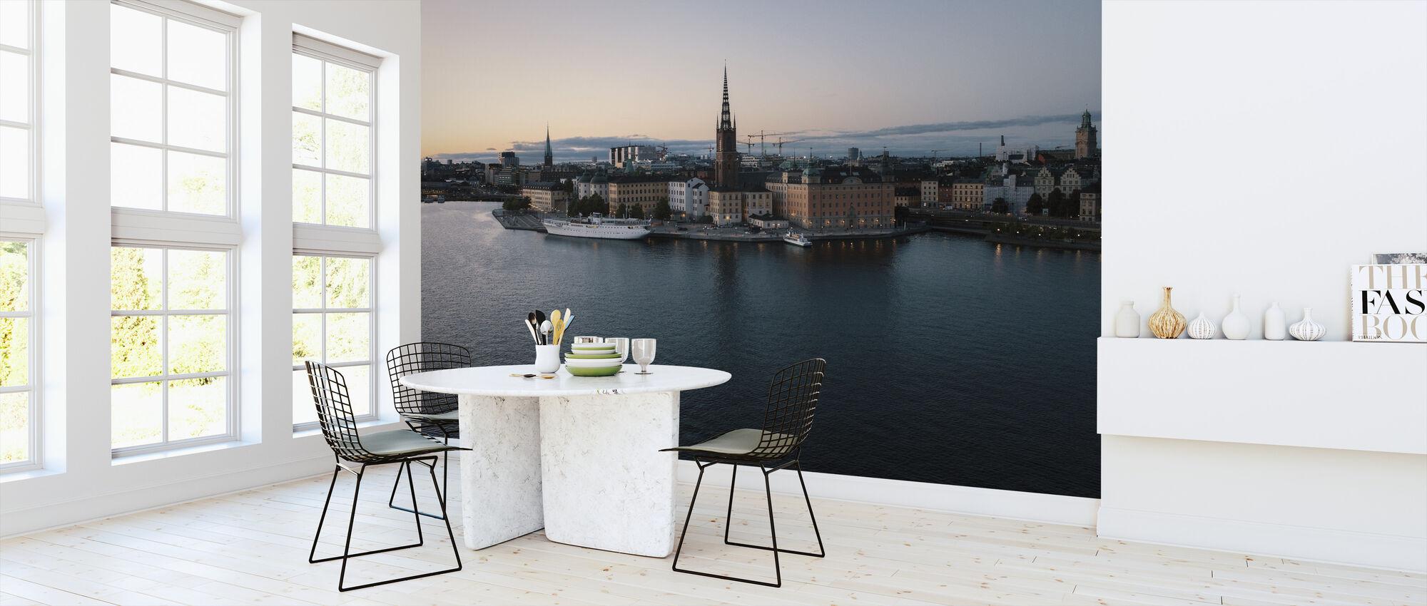 Gamla Stan - Sweden - Wallpaper - Kitchen