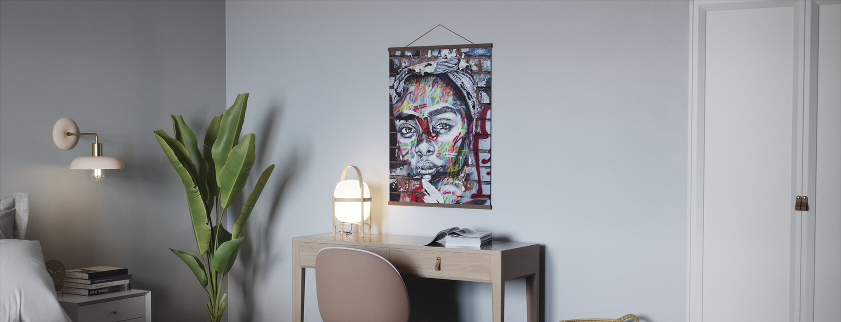 Street Art Portrait - Poster - Office