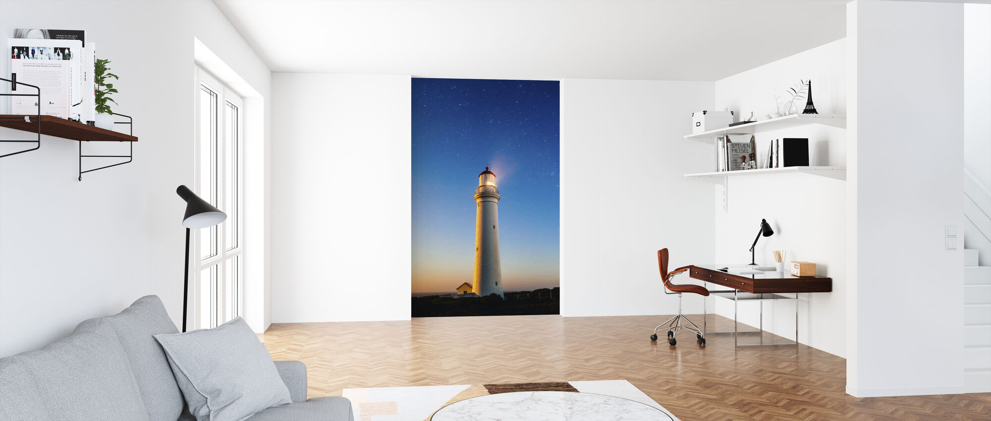 Fresh Perspective Lighthouse - Wallpaper - Office