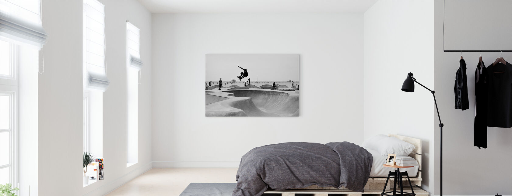 Skate Park - Canvas print - Bedroom