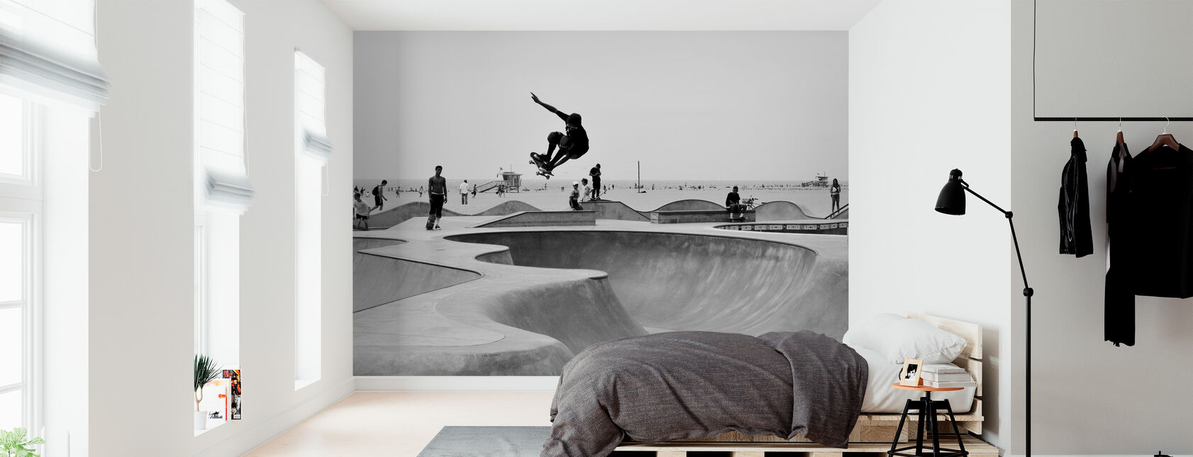 Skate Park - Wallpaper - Bedroom