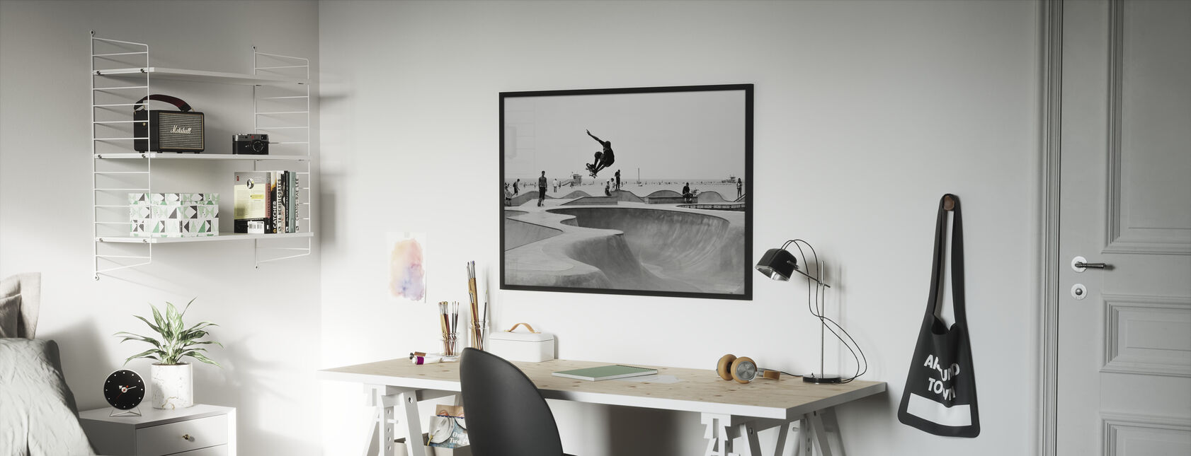 Skate Park - Framed print - Kids Room