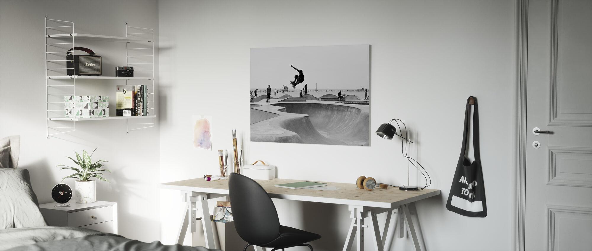 Skate Park - Canvas print - Kids Room