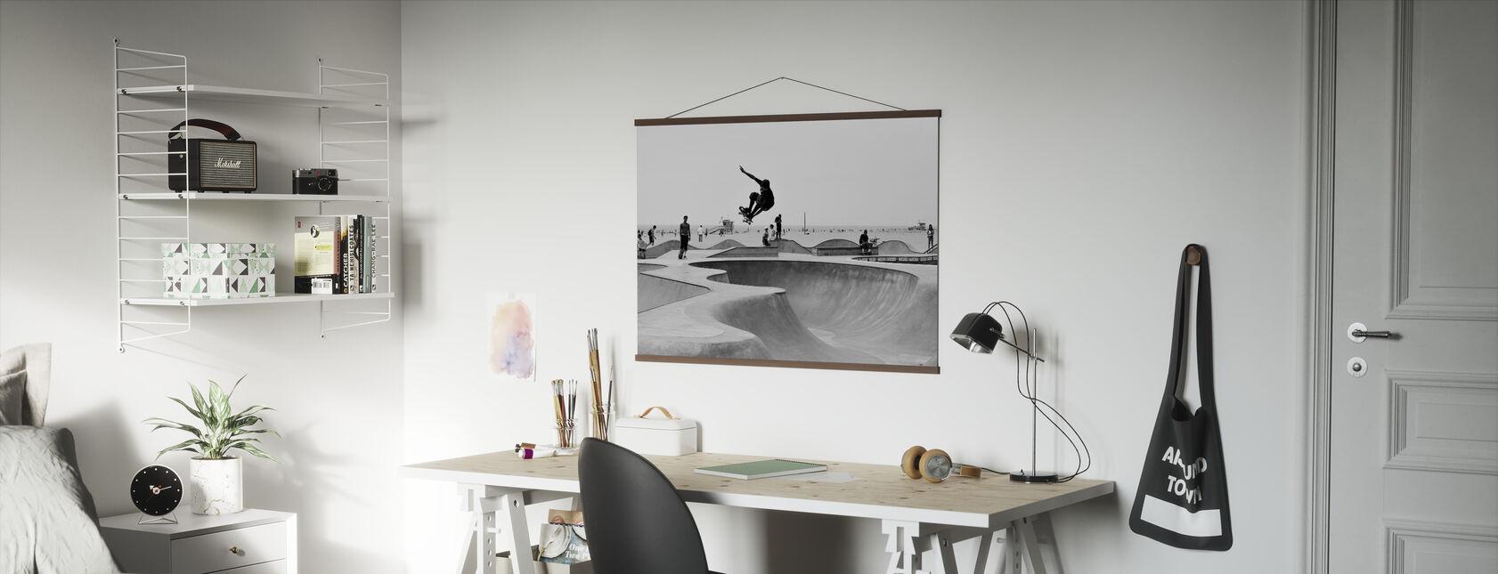 Skate Park - Affiche - Bureau