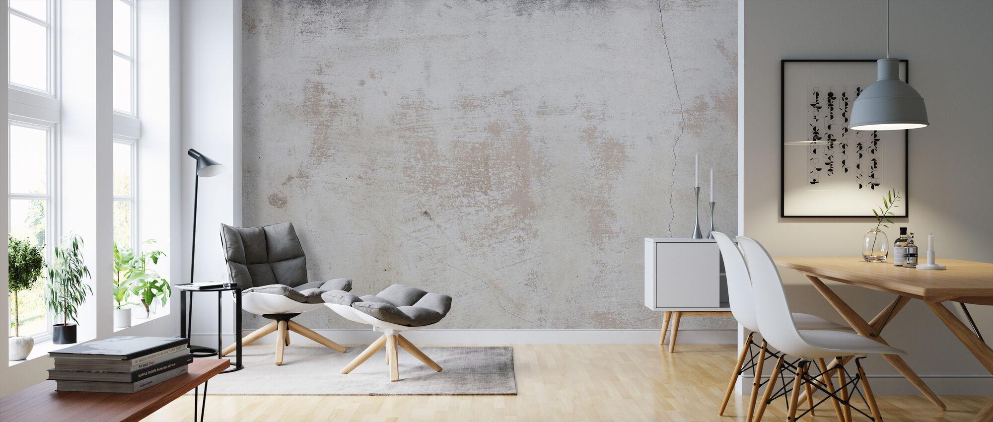 Frayed Wall - Wallpaper - Living Room
