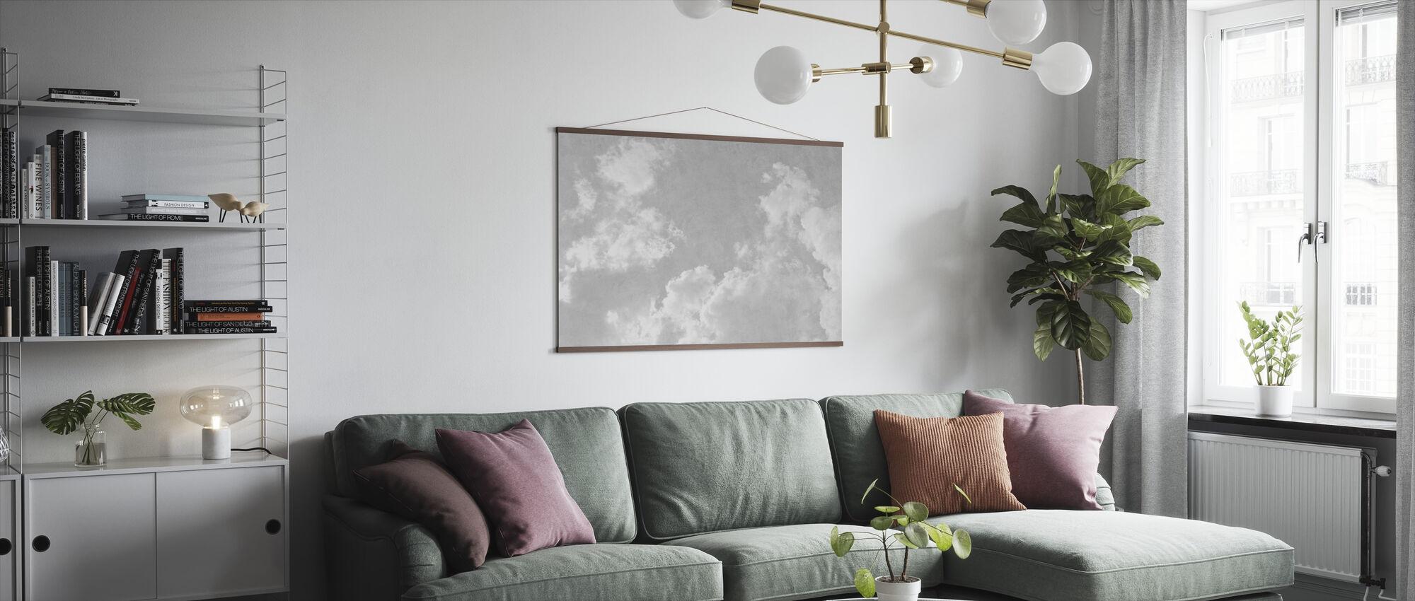 Grunge Sky - Poster - Woonkamer
