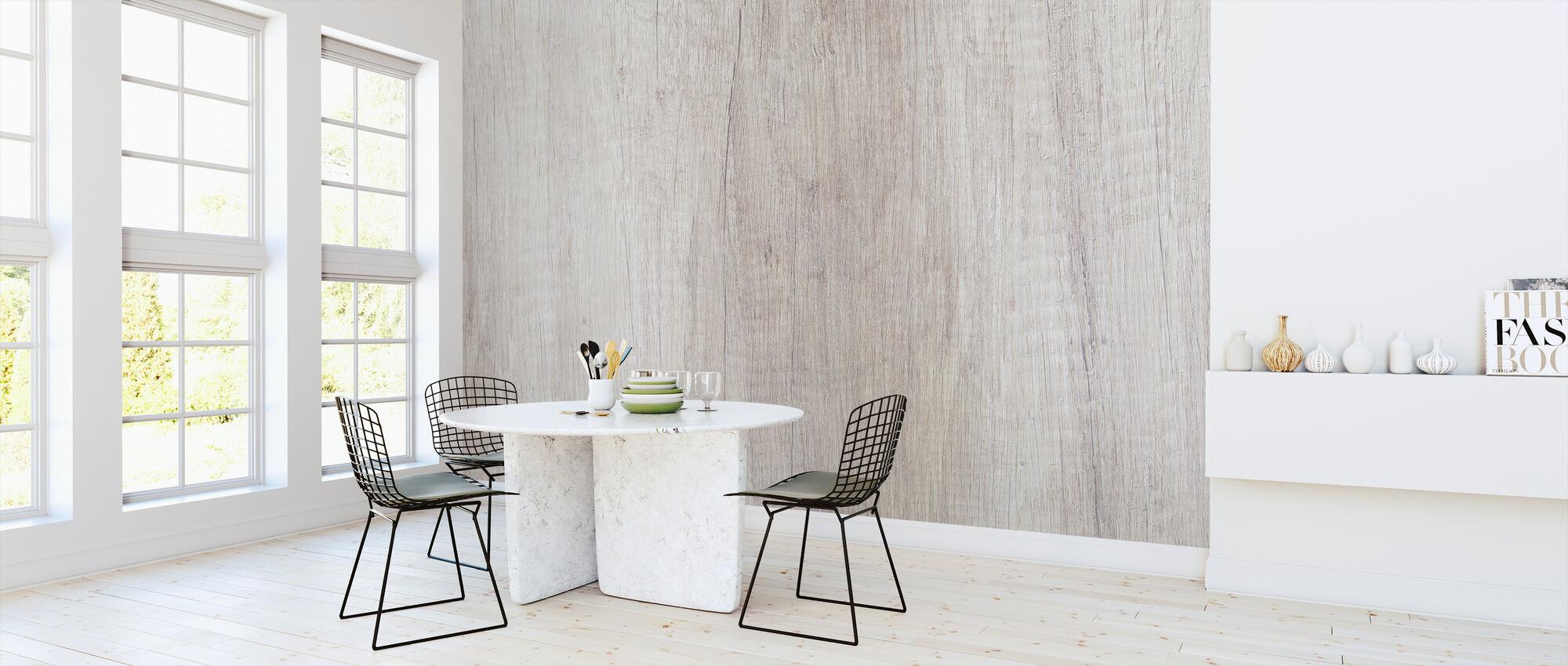 Rustikales Holz - Tapete - Küchen