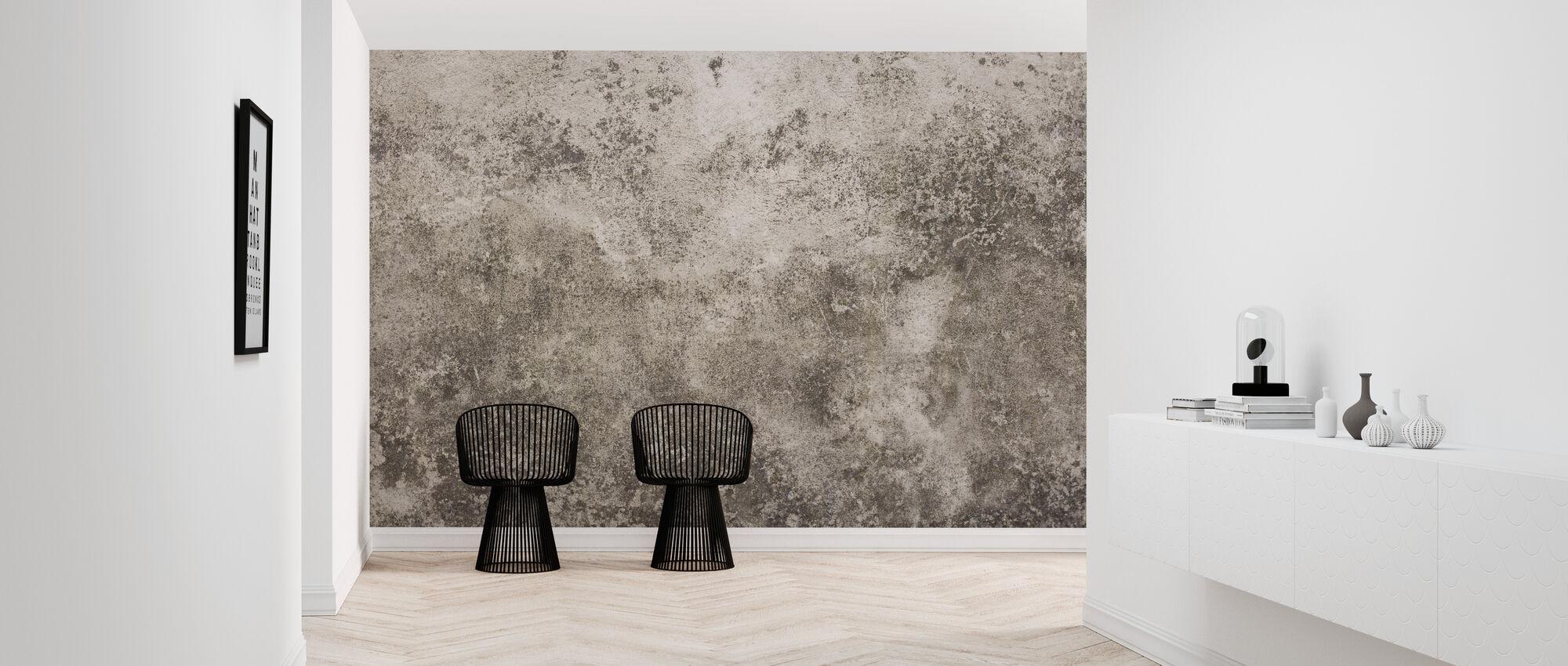 Textured Brixton Wall - Wallpaper - Hallway