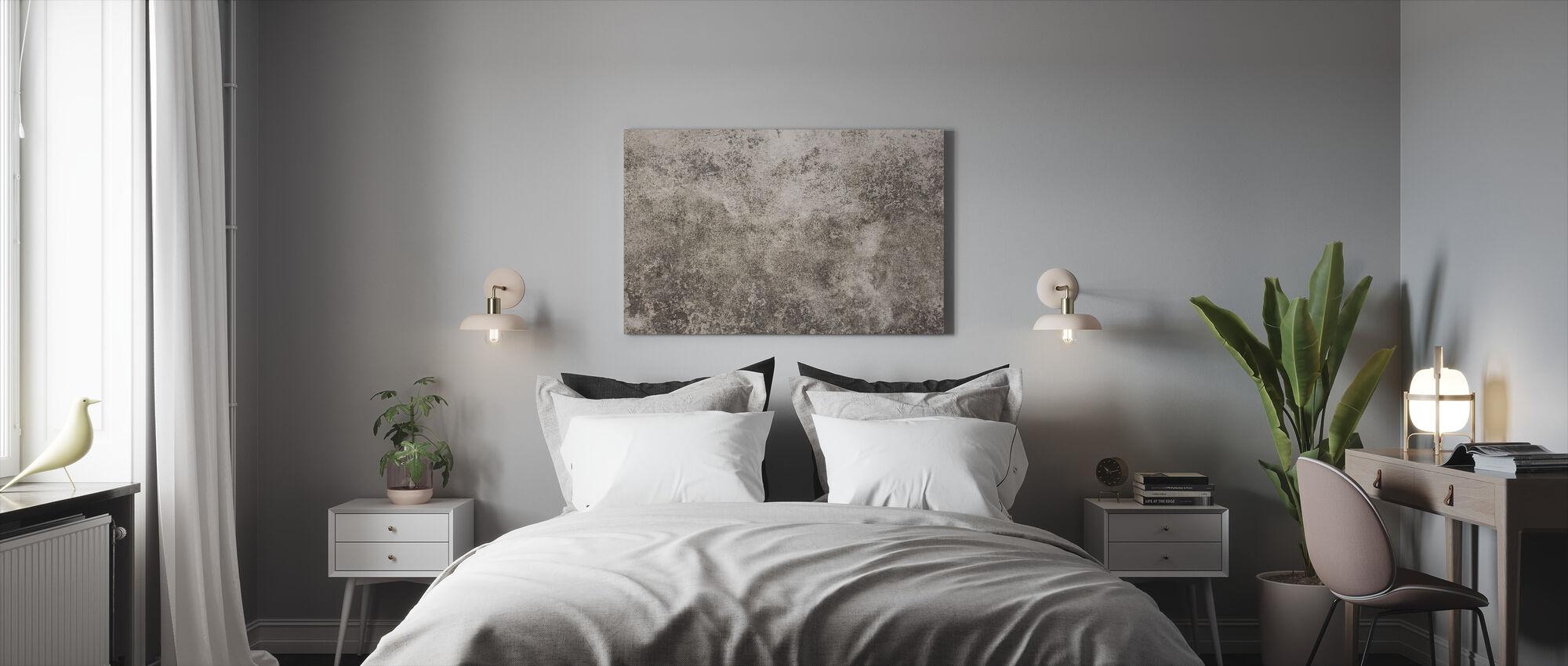 Teksturoitu Brixtonin seinä - Canvastaulu - Makuuhuone