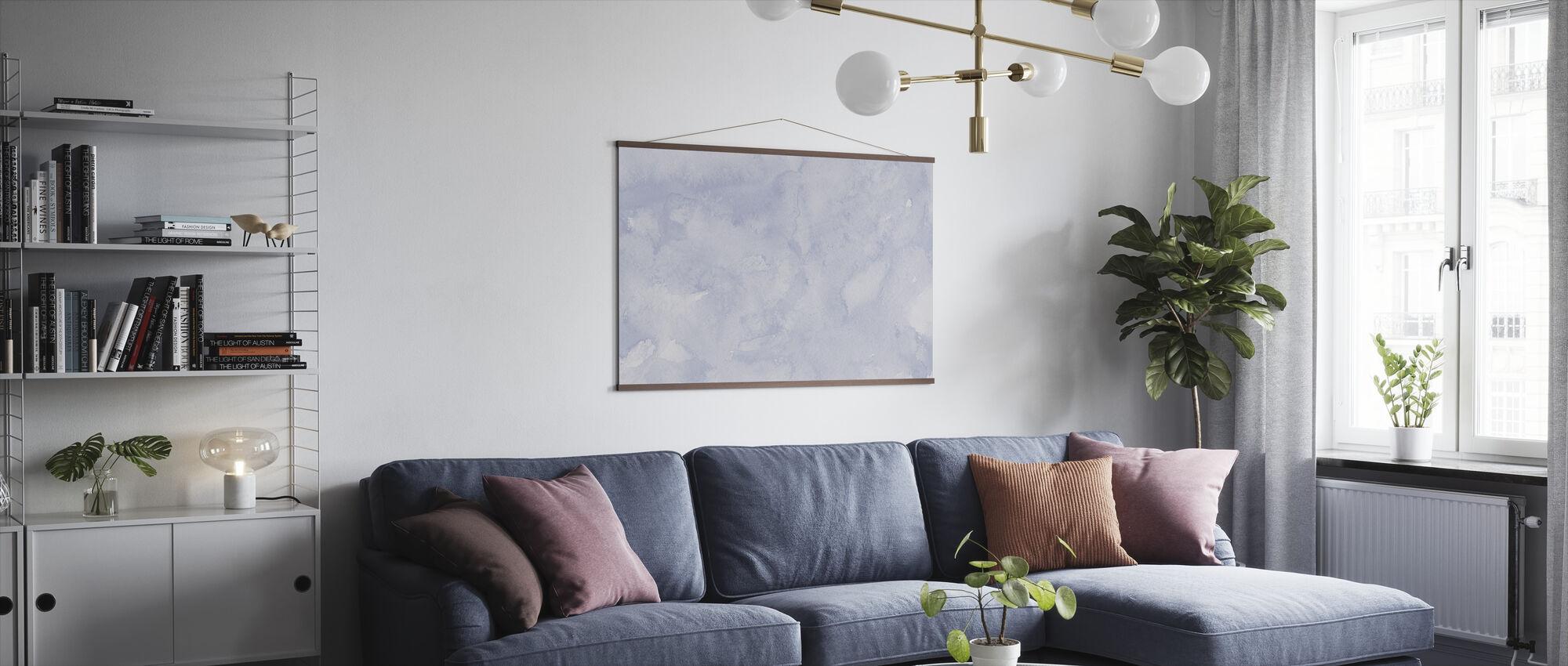 Akvarell Minimalisme XV - Plakat - Stue