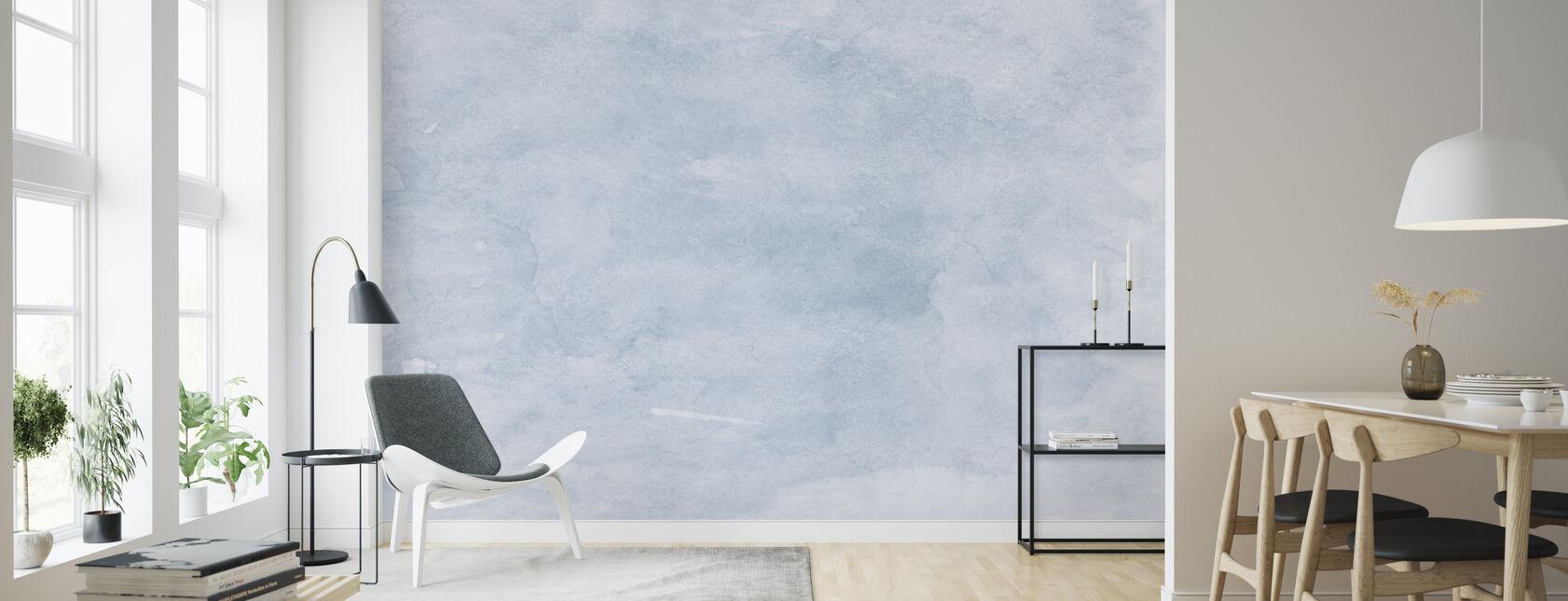 Watercolor Minimalism XVI - Wallpaper - Living Room