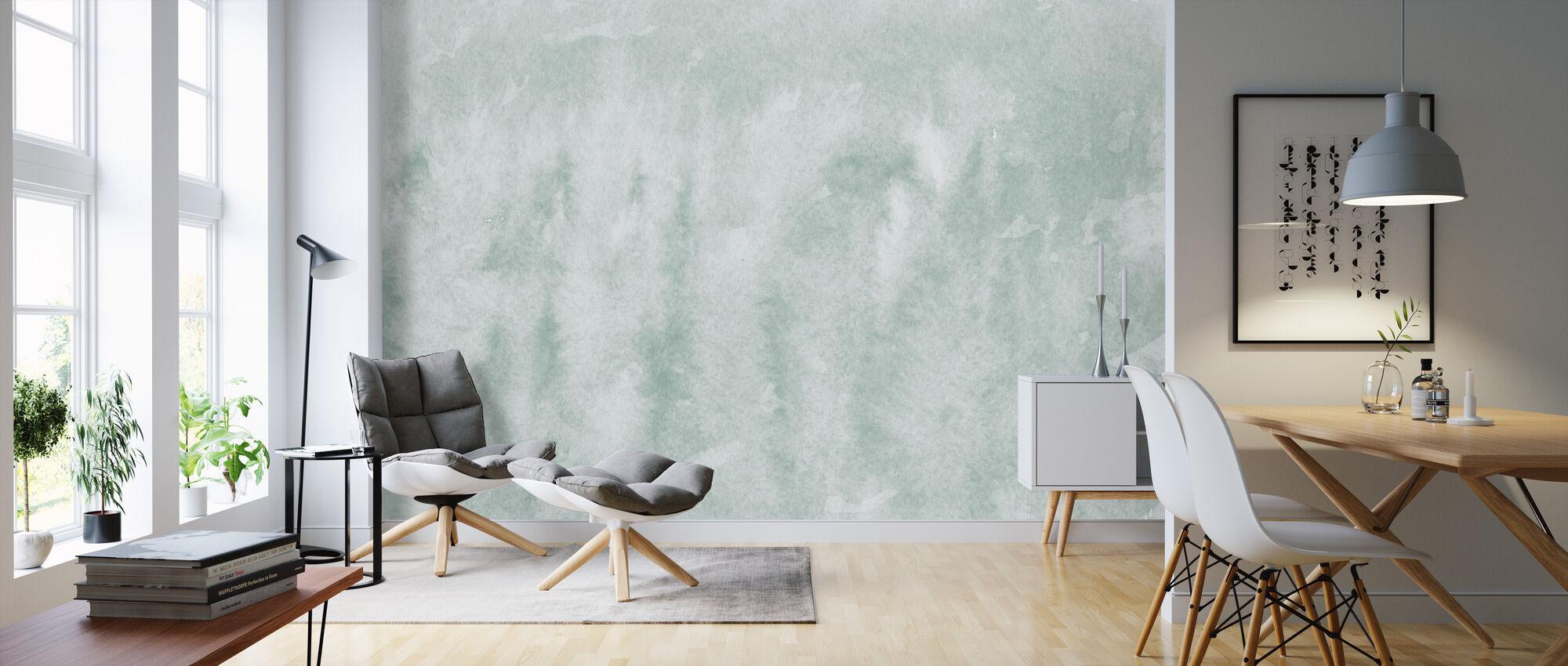 Watercolor Minimalism XX - Wallpaper - Living Room