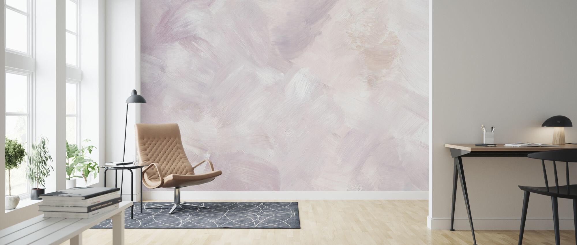 Blush Purple - Wallpaper - Living Room