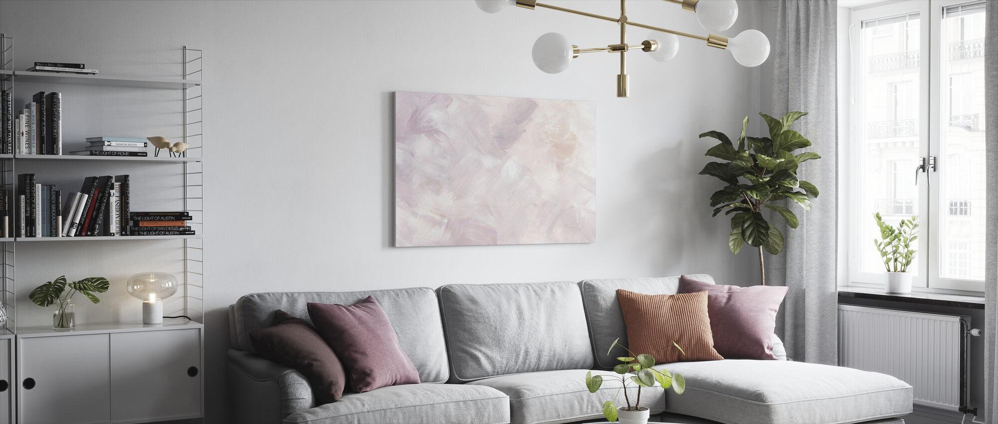 Blush Purple - Canvas print - Living Room