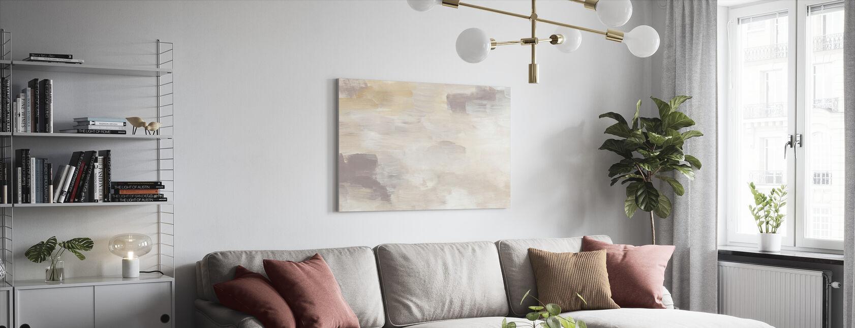 Blush Soft Brown - Leinwandbild - Wohnzimmer
