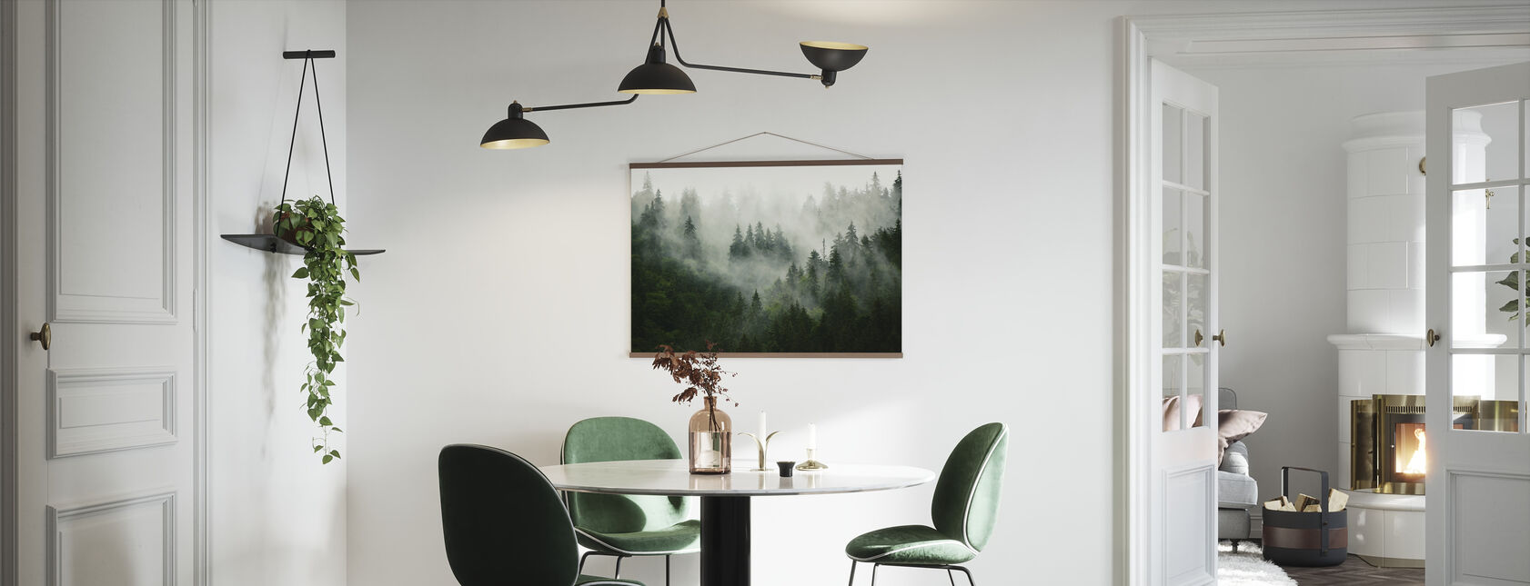 Foggy Forest - Poster - Kitchen