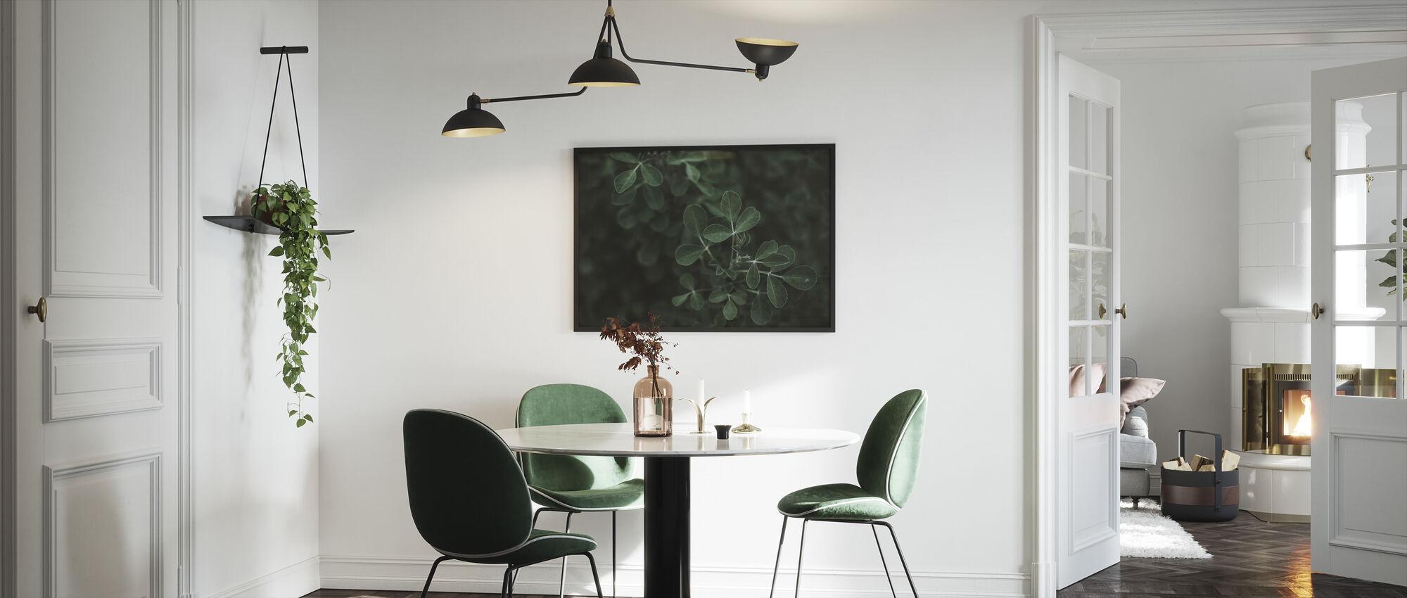 Leaf med lav nøkkel - Innrammet bilde - Kjøkken