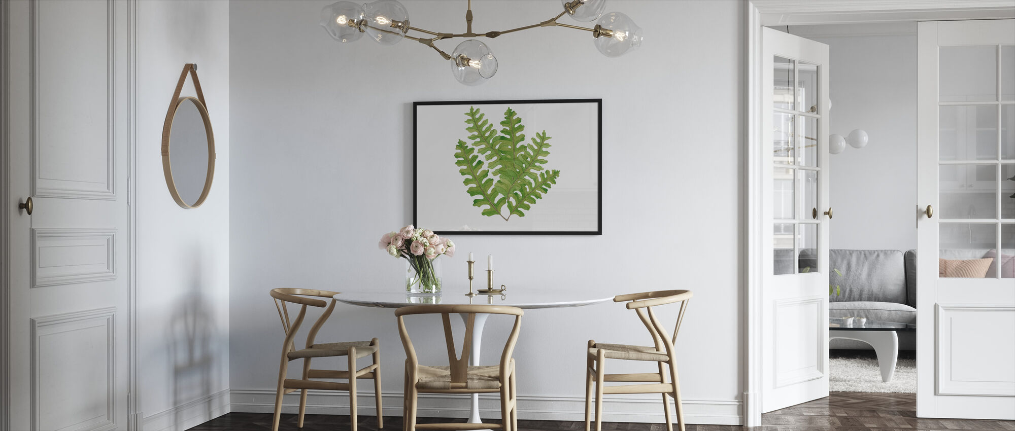 Plant Lush III - Framed print - Kitchen