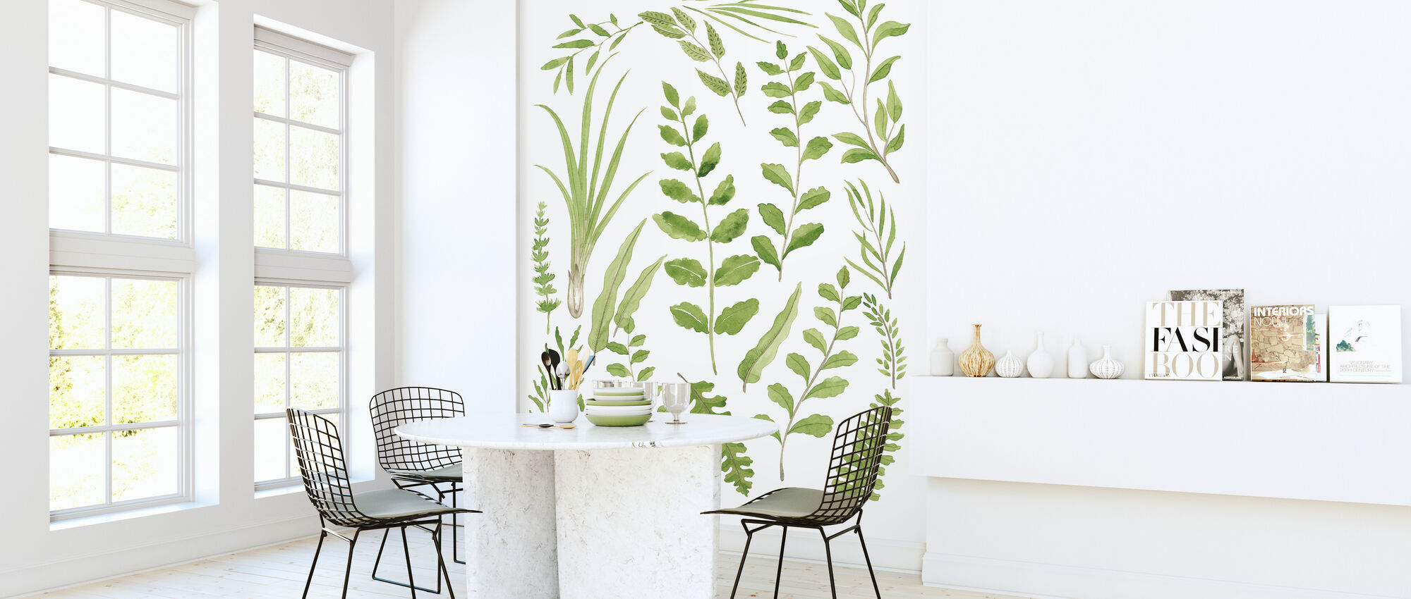 Plant Lush - Wallpaper - Kitchen