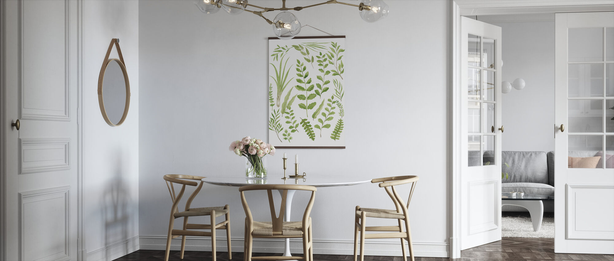 Plante Frodig - Plakat - Kjøkken