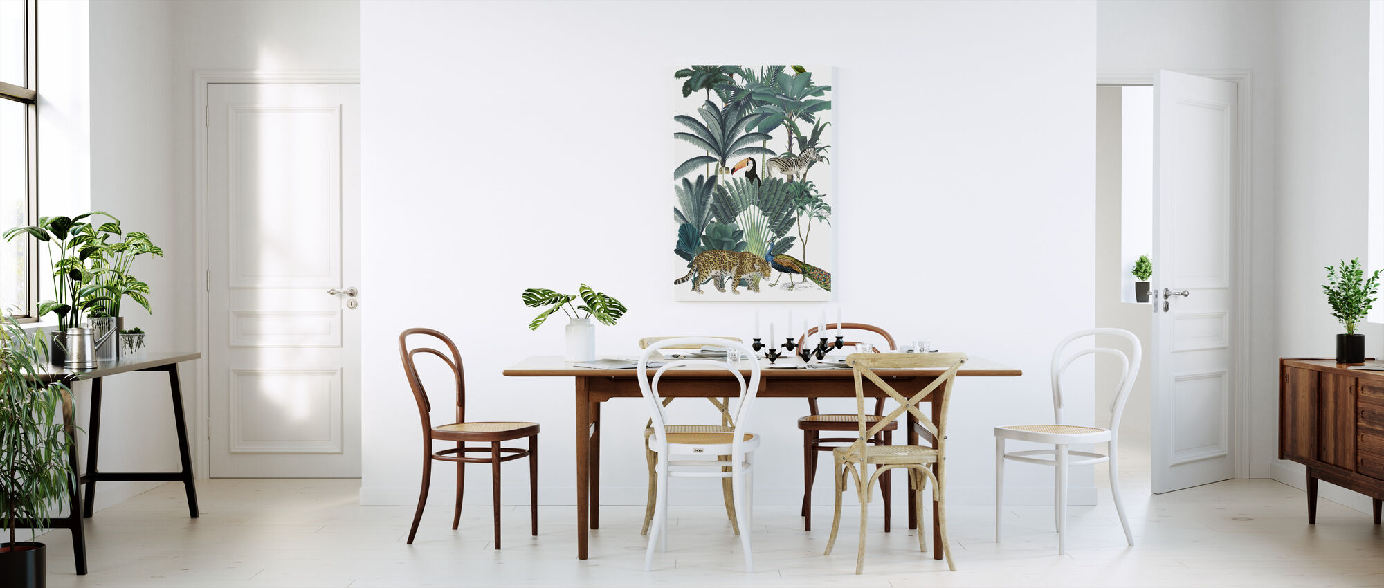 Royal Palms - Canvas print - Kitchen