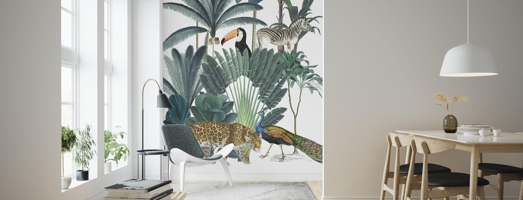 Royal Palms - Wallpaper - Living Room