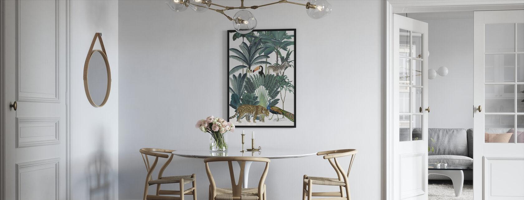 Koninklijke Palmen - Ingelijste print - Keuken