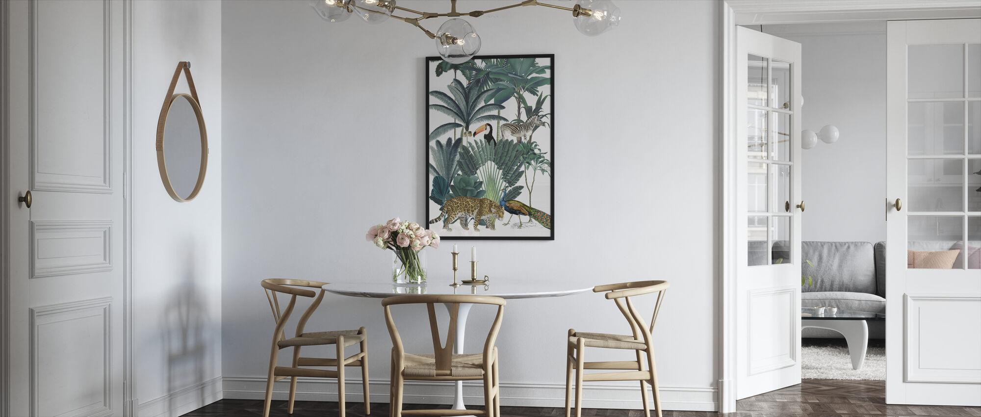 Royal Palms - Framed print - Kitchen