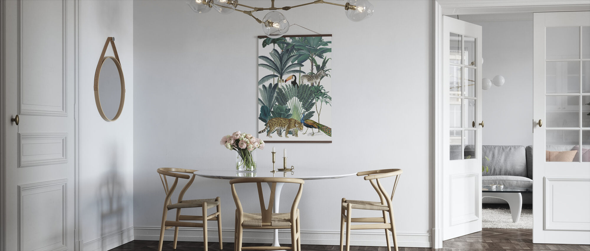 Royal Palms - Poster - Kitchen
