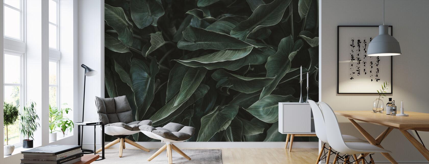 Succulent - Wallpaper - Living Room