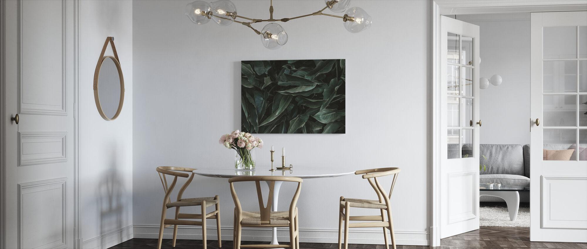 Succulent - Canvas print - Kitchen