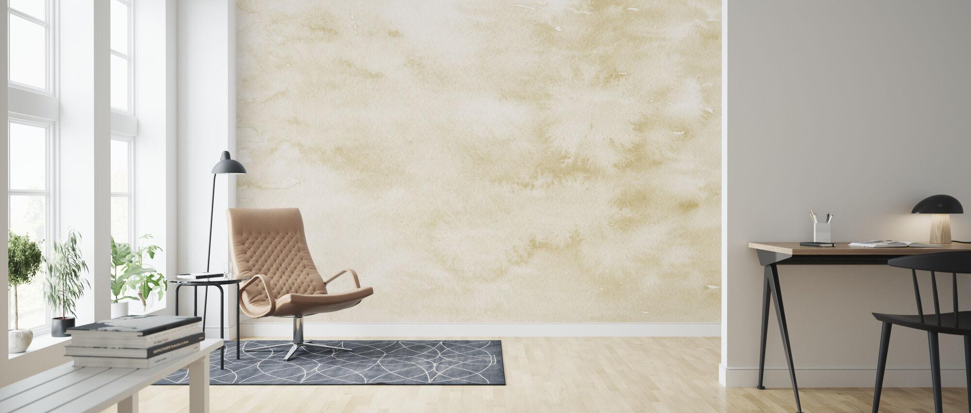 Watercolor Minimalism I IIII - Wallpaper - Living Room