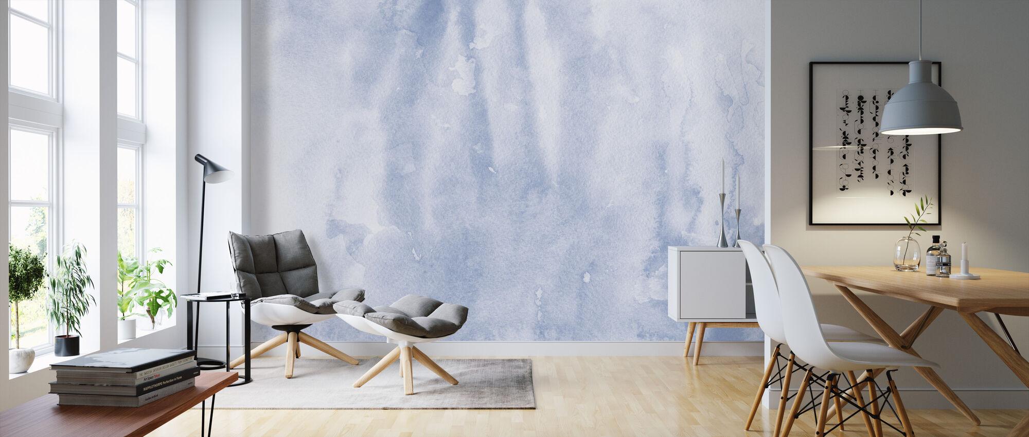 Watercolor Minimalism II - Wallpaper - Living Room