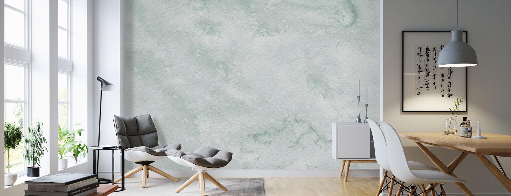 Watercolor Minimalism III - Wallpaper - Living Room