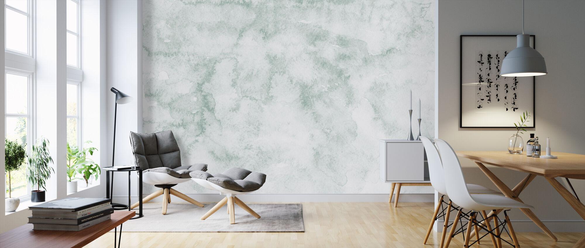 Watercolor Minimalism X - Wallpaper - Living Room