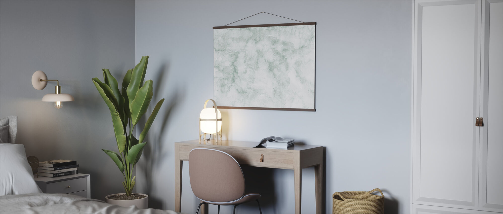 Watercolor Minimalism X - Poster - Office