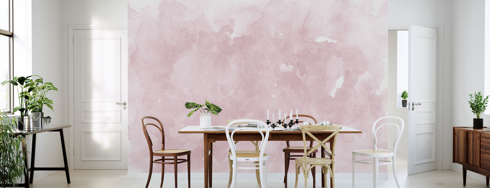 Watercolor Minimalism XI - Wallpaper - Kitchen