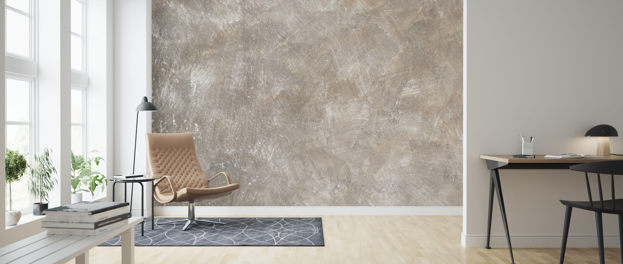 Weathered Wall - Wallpaper - Living Room