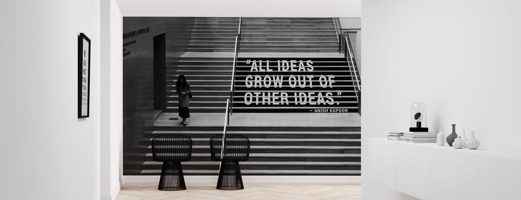 Idee en creativiteit - Behang - Gang