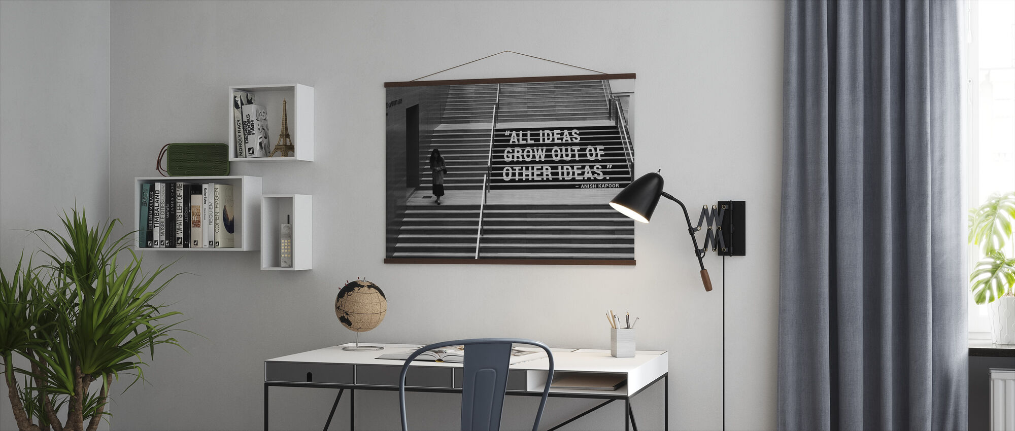 Idea and Creativity - Poster - Office