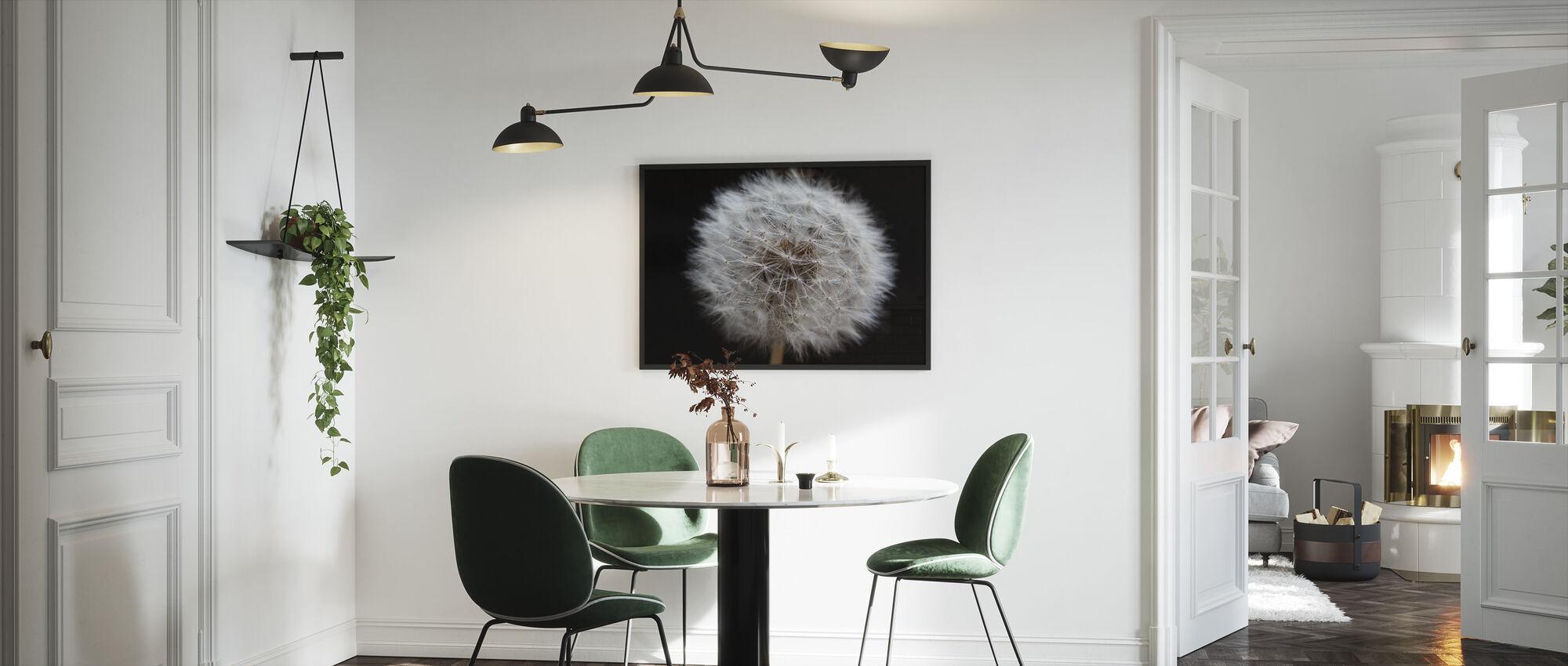 Dandelion - Framed print - Kitchen