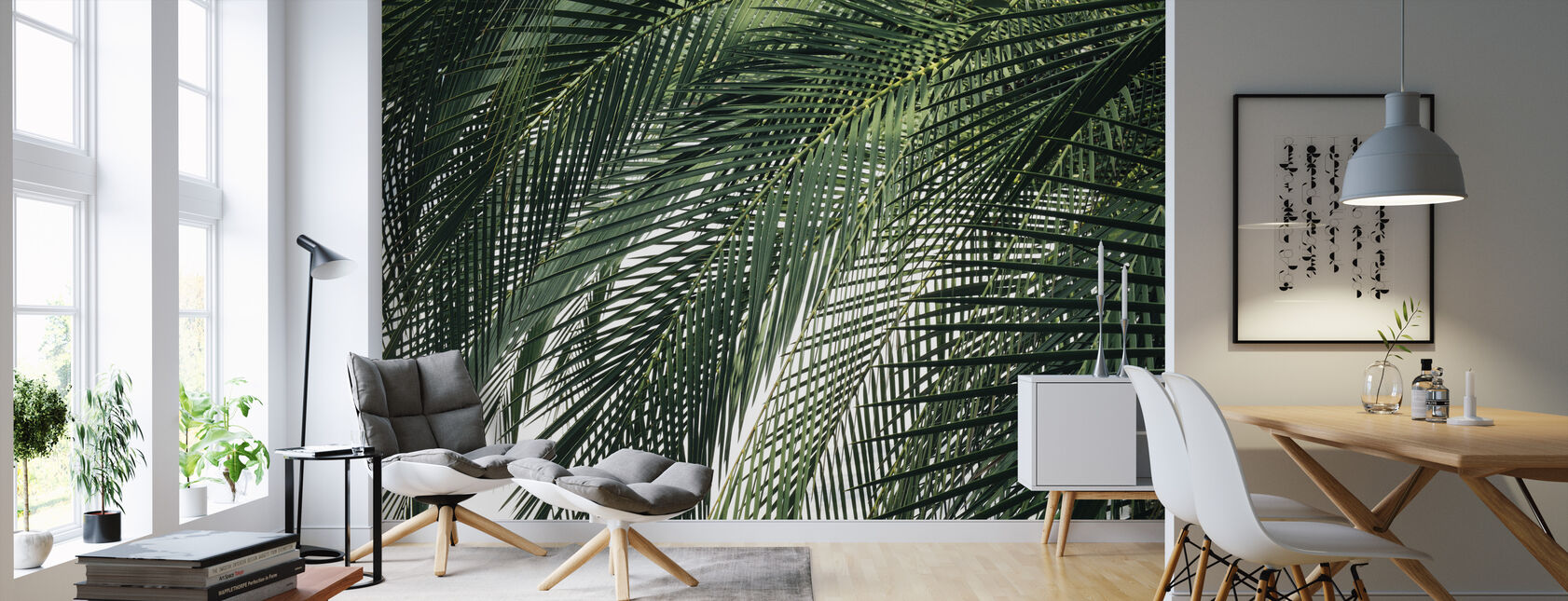 Palm Tree - Wallpaper - Living Room