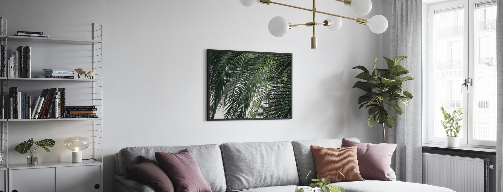 Palm Tree - Framed print - Living Room