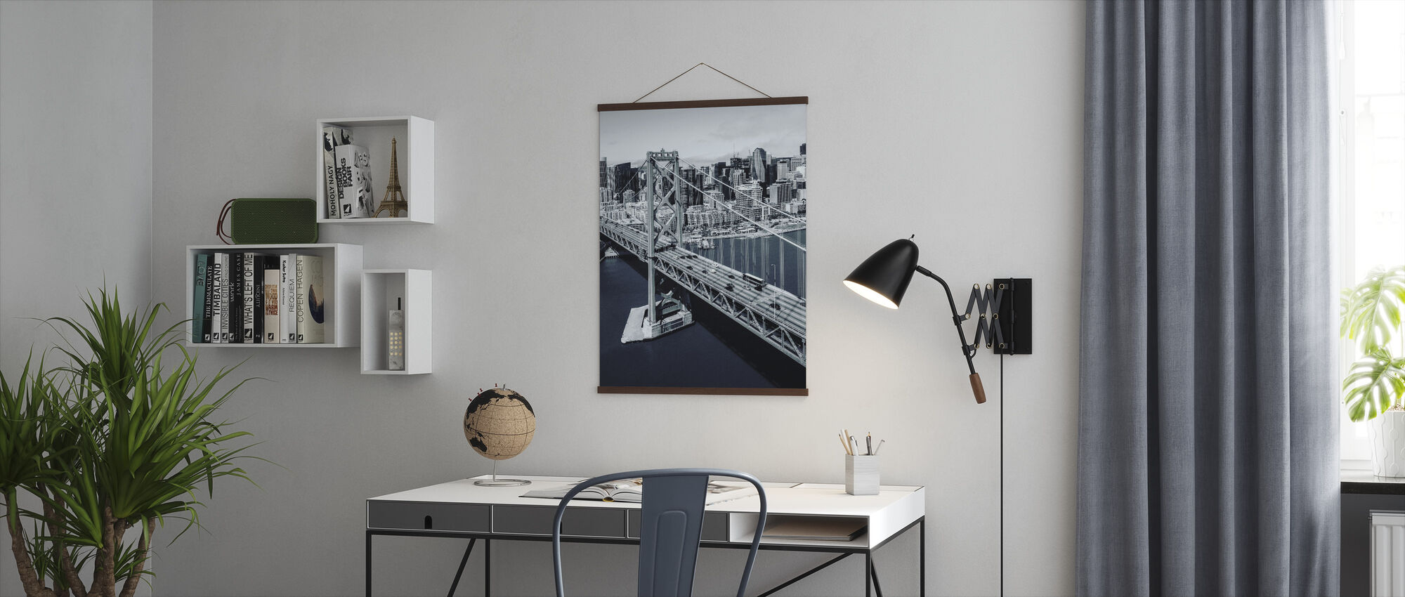 Bay Bridge - Poster - Büro