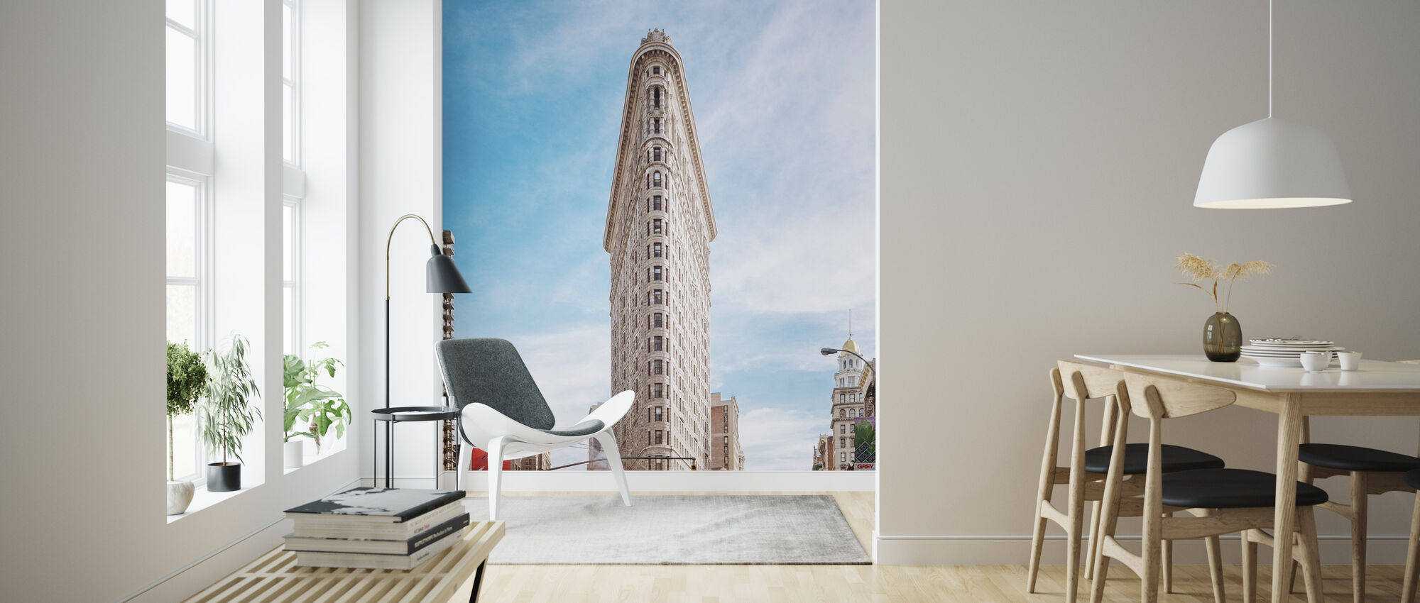Flatiron Building Made To Measure Wall Mural Photowall