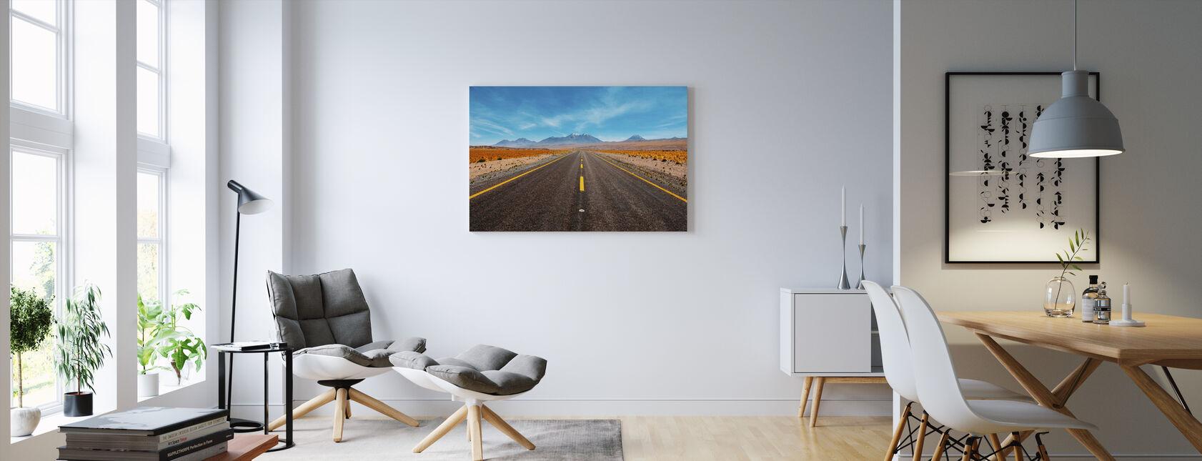 Aavikon valtatie - Canvastaulu - Olohuone
