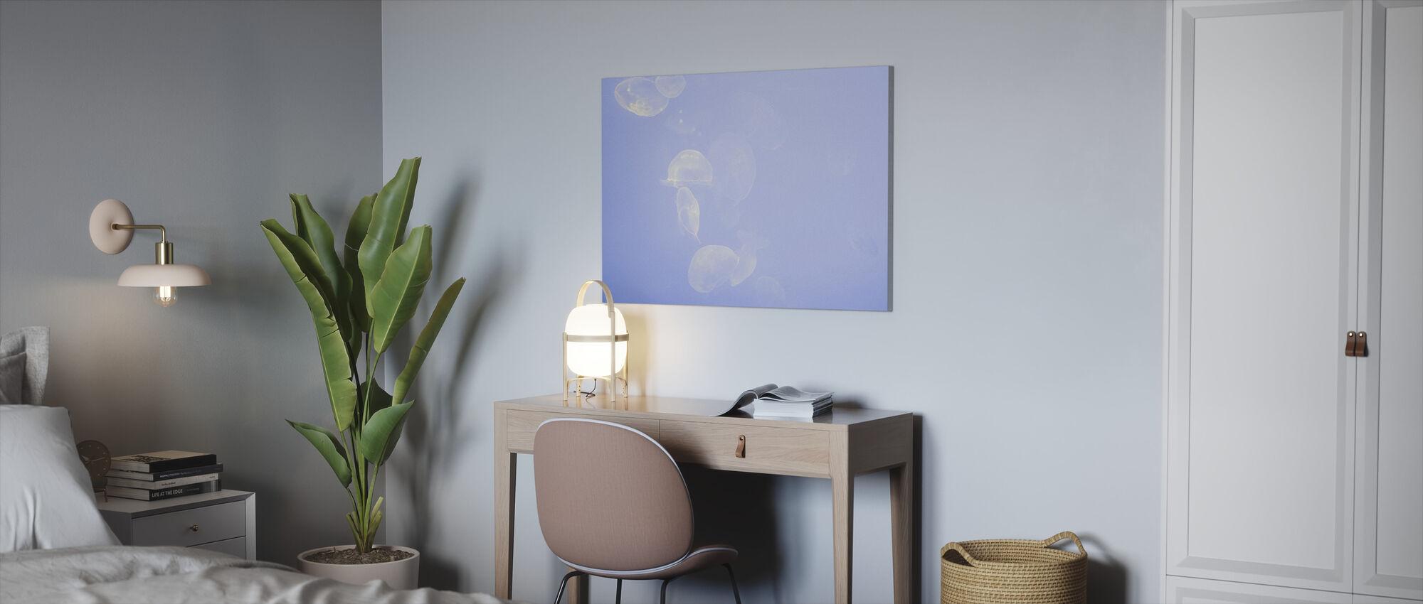 La Rochelle Jellyfish - Canvas print - Office