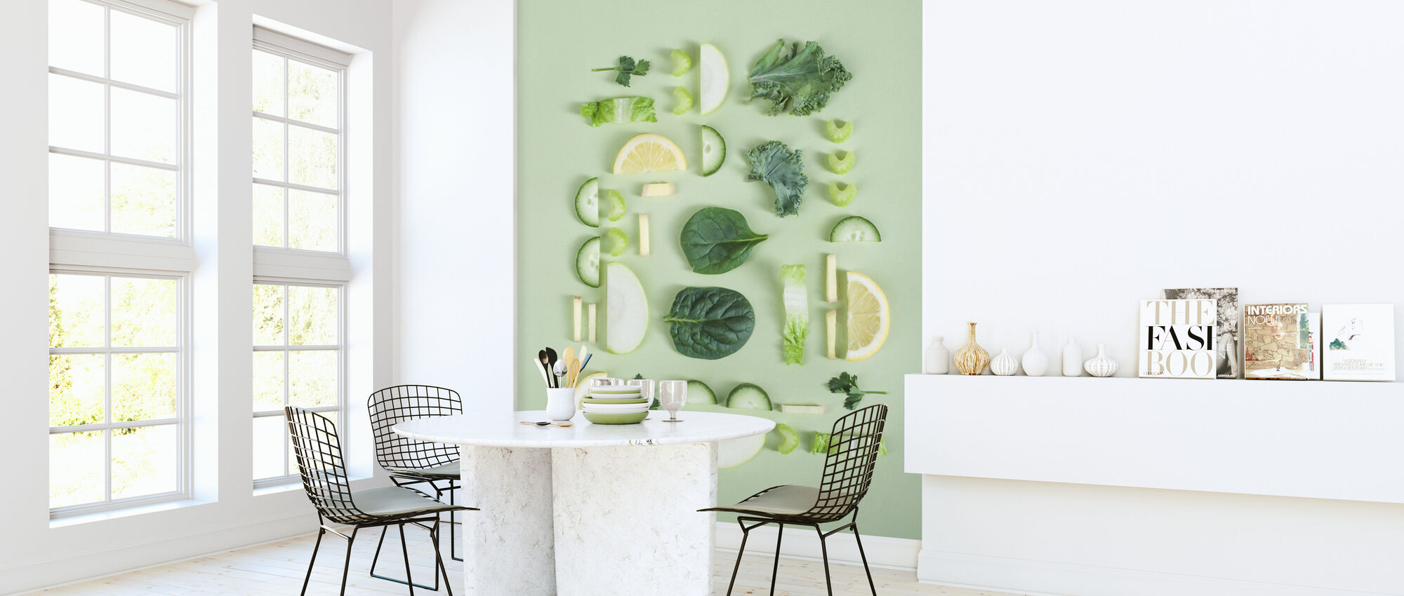 Fruits and Vegetables - Wallpaper - Kitchen