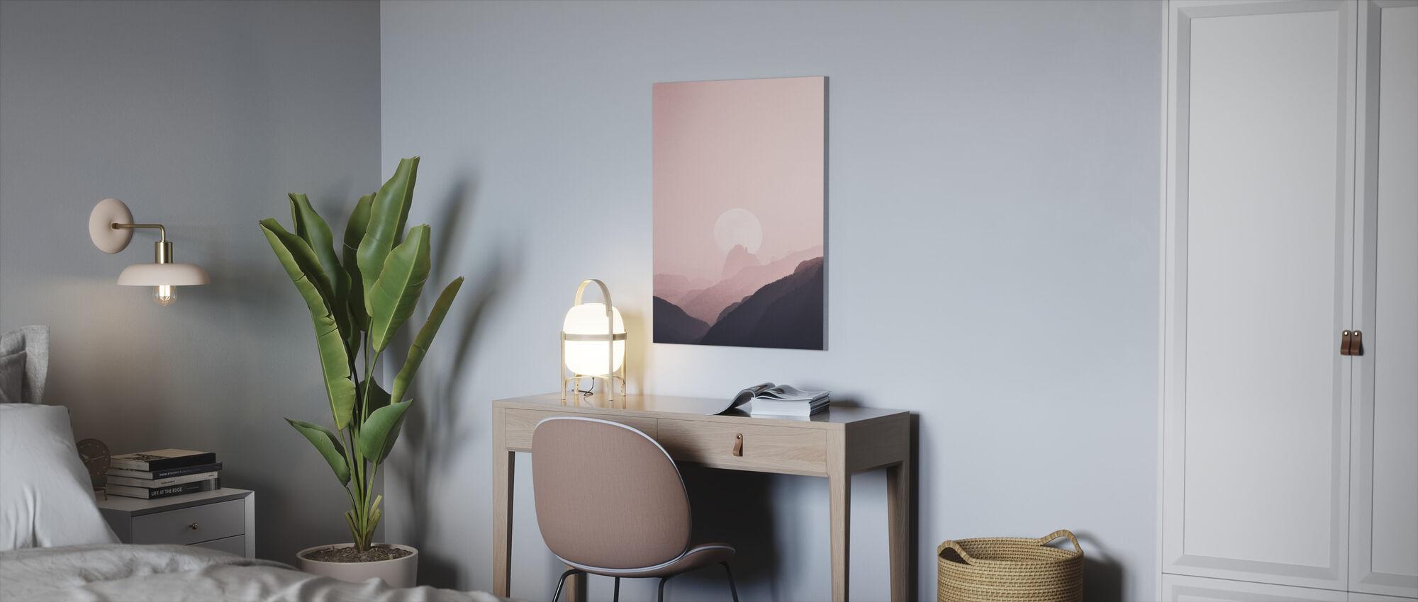 Berg und Natur - Leinwandbild - Büro