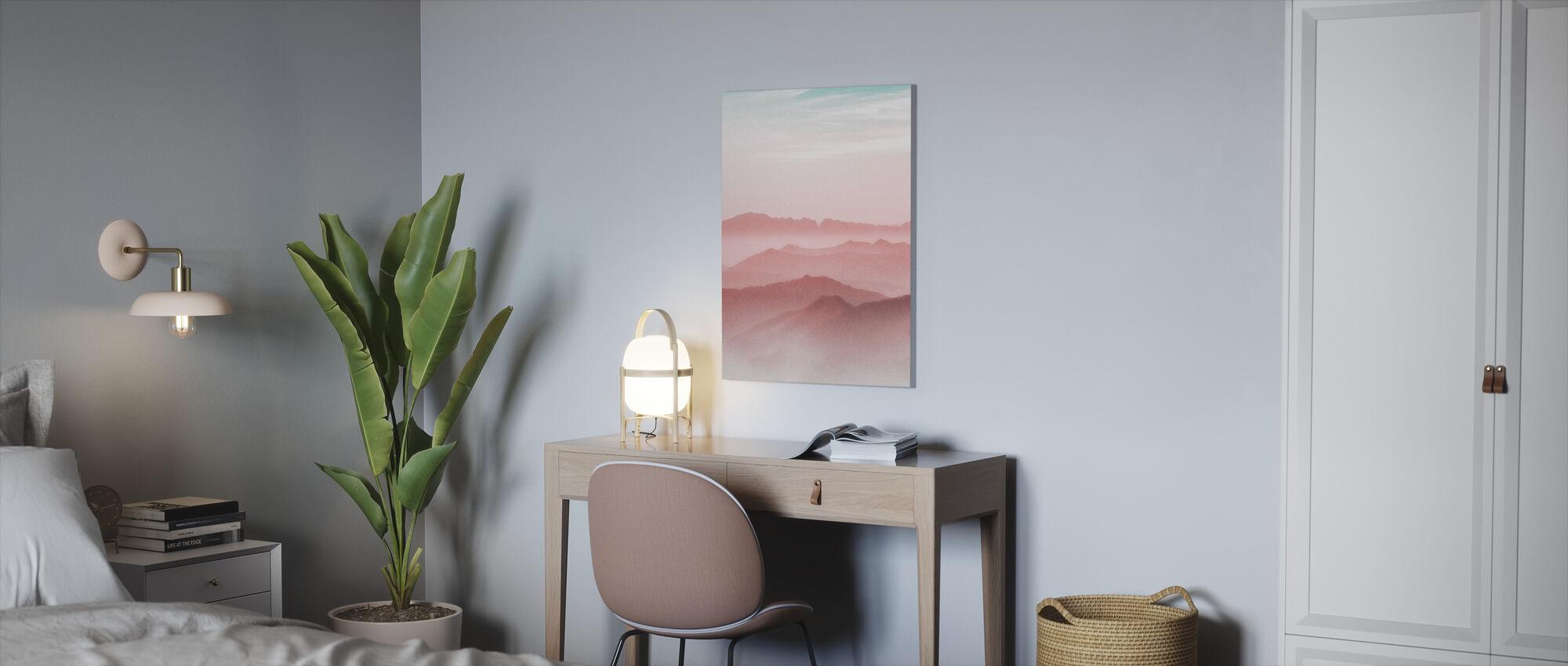 Mist Mountain - Canvastaulu - Toimisto